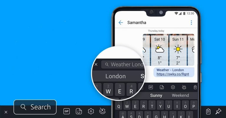 Microsoft SwiftKey Keyboard Android apk free download [25 MB]